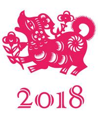 Jahr des Erde-Hundes 2018