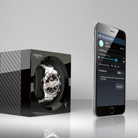 Uhrenbeweger mit Smartphone App