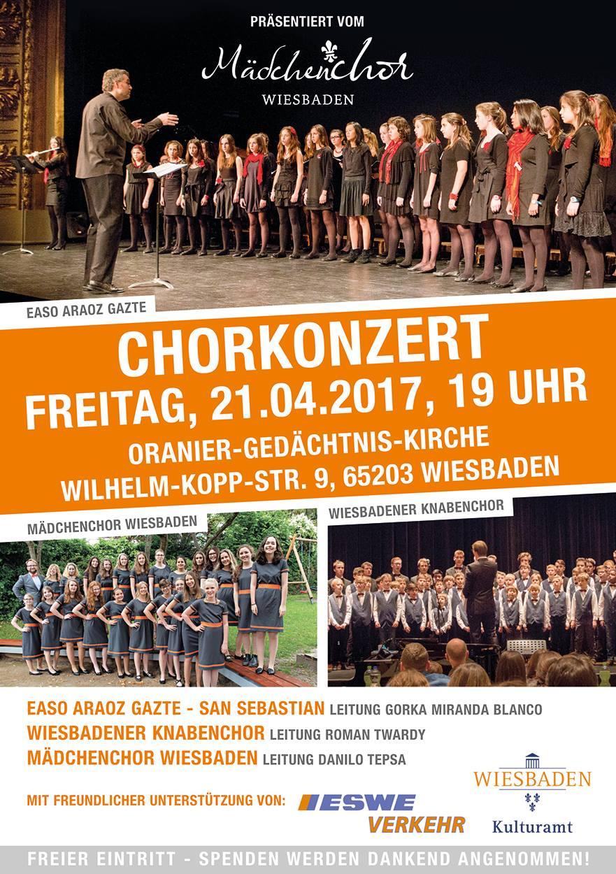 Mädchenchor-Konzert