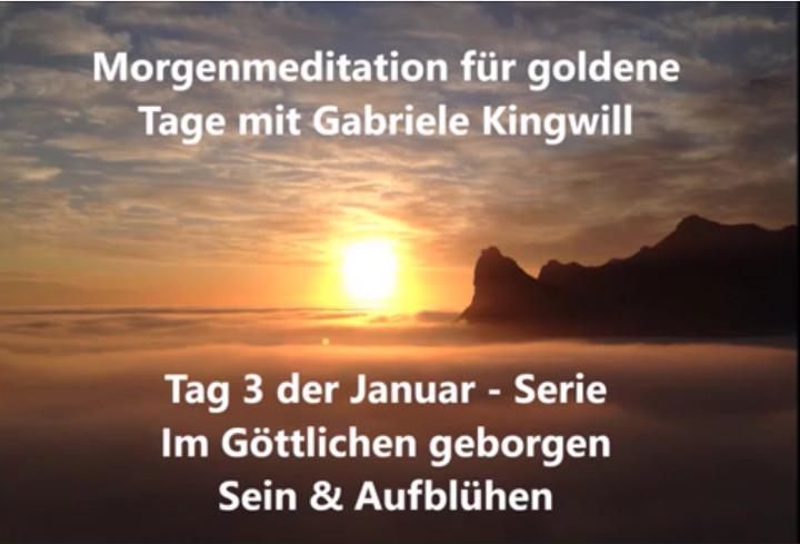 Meditationsvideo mit göttlicher Umarmung