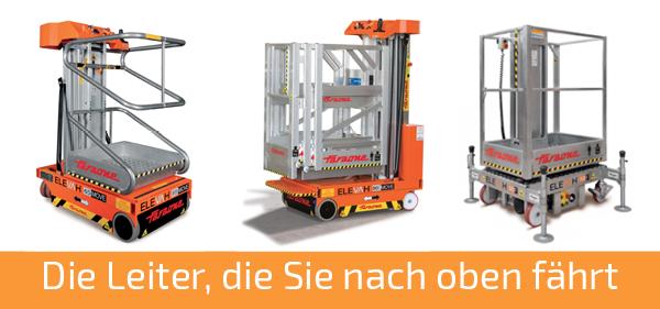 Die elektrischen Leitern von Faraone - Jetzt bei Kunze mieten und kaufen!