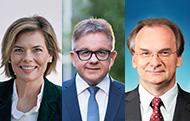 Julia Klöckner, Guido Wolf und Reiner Haseloff
