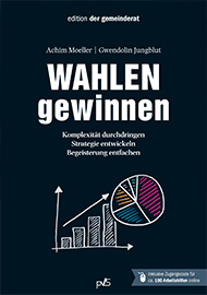 """Cover des Buchs """"Wahlen gewinnen"""""""
