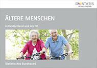 """Cover der Broschüre """"Ältere Menschen in Deutschland und der EU"""" vom Statistischen Bundesamt"""
