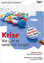 Cover der neusten Souverän Ausgabe