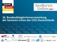 16. Bundesdelegiertenversammlung der Senioren-Union  in Magdeburg