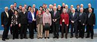 Das Bild zeigt den Bundesvorstand der Senioren Union