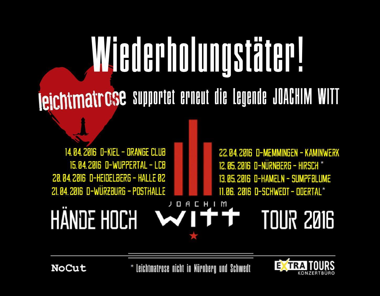 Joachim Witt Tour