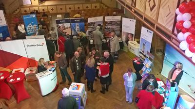 Viele Informationen rund ums Reisen gab es bei der ersten Heine Reisemesse in Wangen in der Stadthalle.