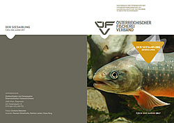 Infofolder vom Österreichischen Fischereiverband zum Fisch des Jahres 2017
