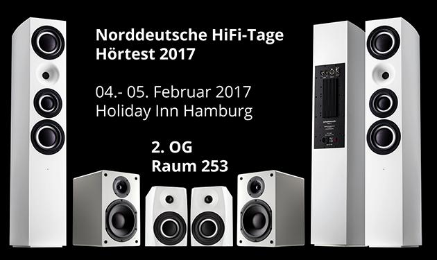 Schanks Audio auf den Norddeutschten HiFi-Tagen 2017