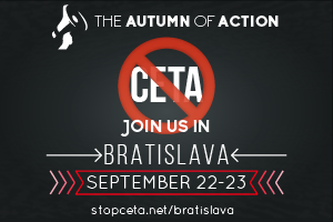 Demonstration in Bratislava