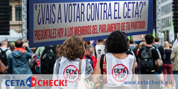 Vais a votar contra el CETA?