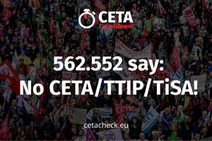 Austria says 563.553 times NO to CETA