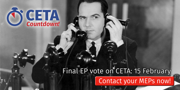 Call your MEP today!