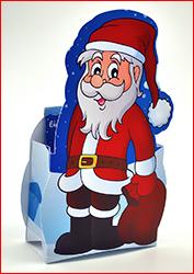 Weihnachtsmann Aufsteller