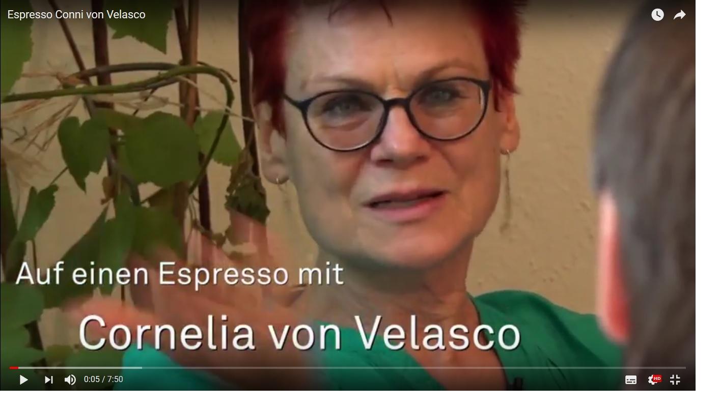 auf einen Espresso mit Cornelia von Velasco