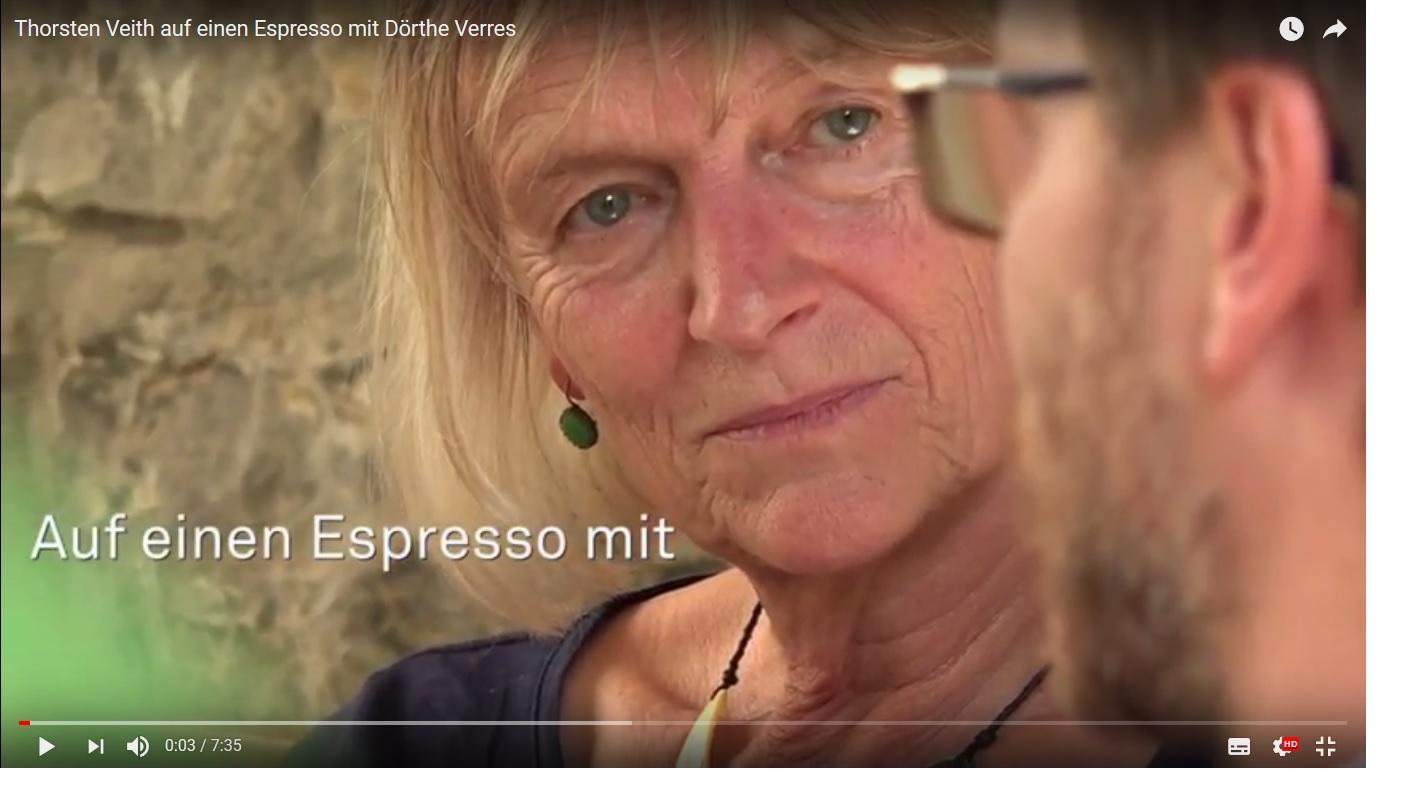 auf einen Espresso mit Dörthe Verres