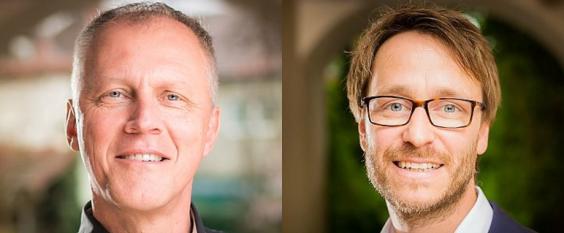 Volker Köhninger und Thorsten Veith