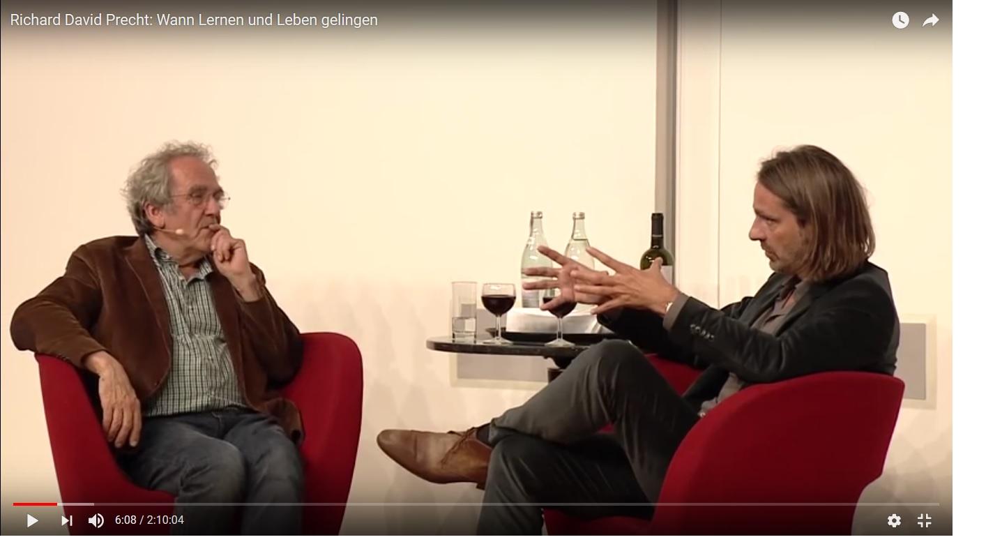 """Richard David Precht im """"Bildungsgespräch"""""""