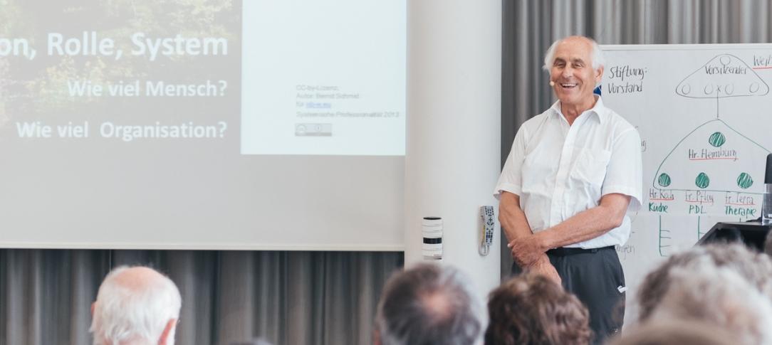 Bernd Schmid in Witten/Herdecke