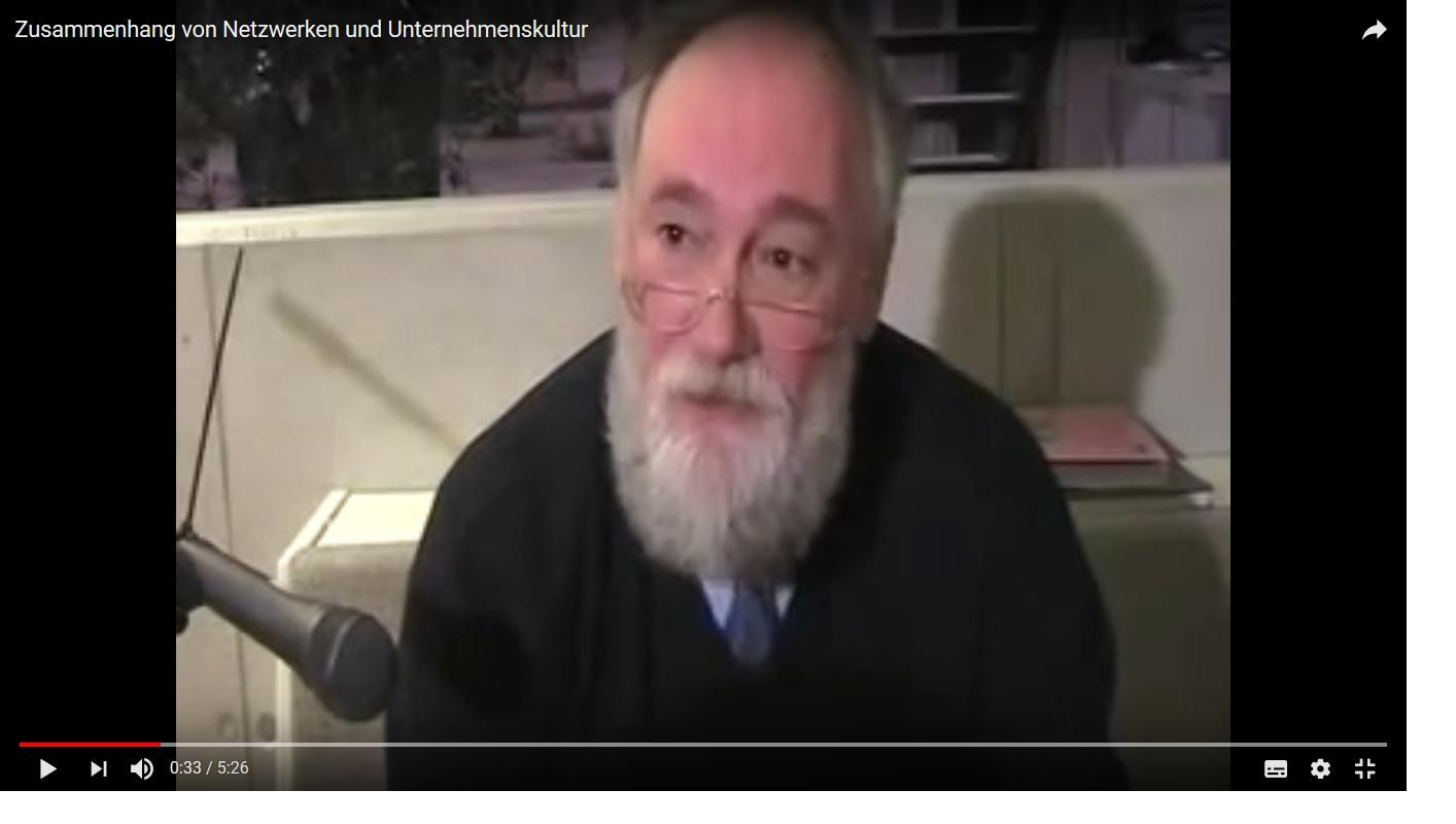 Prof. Peter Kruse im Gespräch