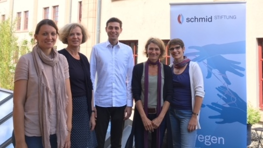 das neue Team der Schmid Stiftung