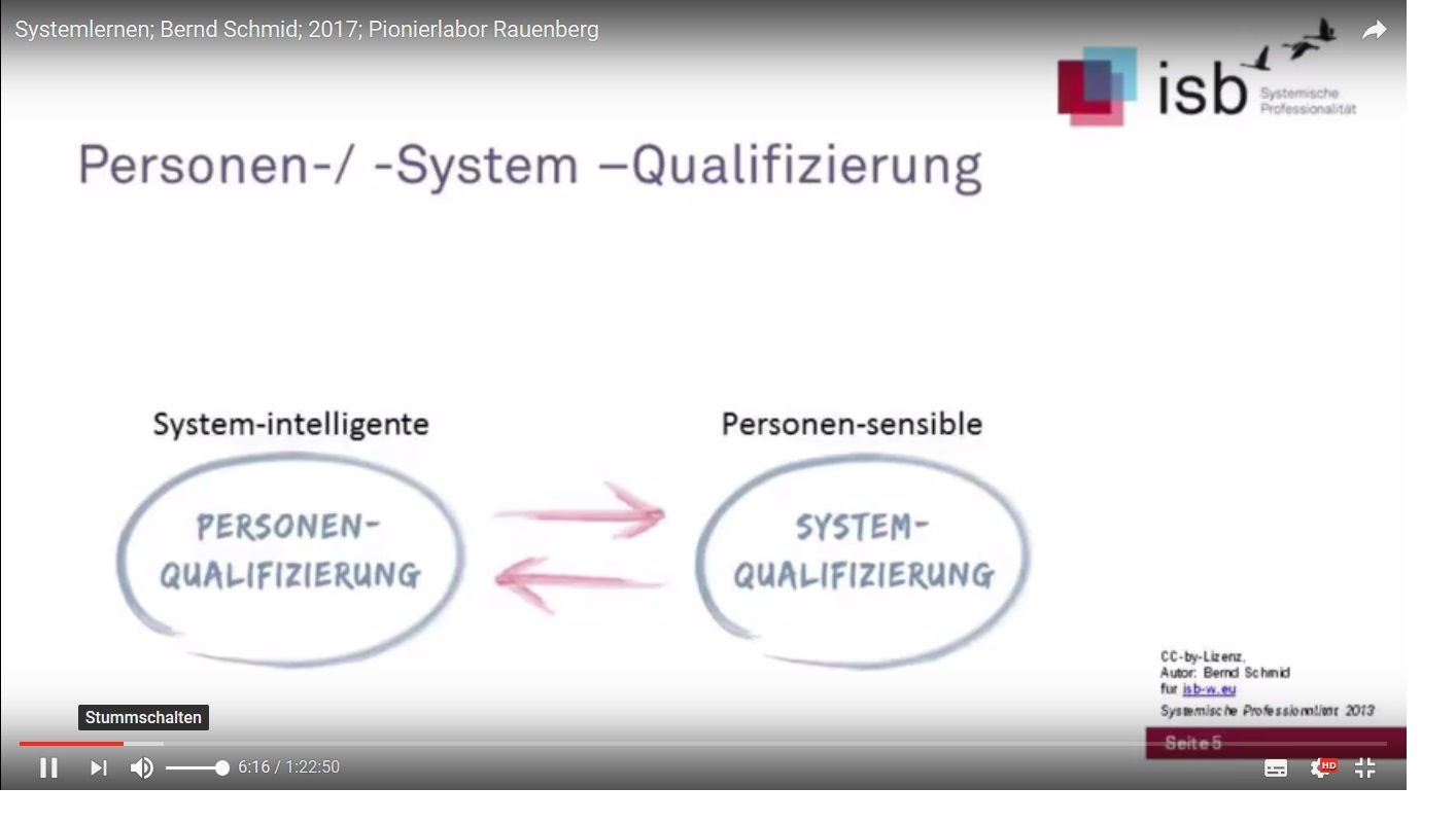 Vortrag Systemlernen Bernd Schmid