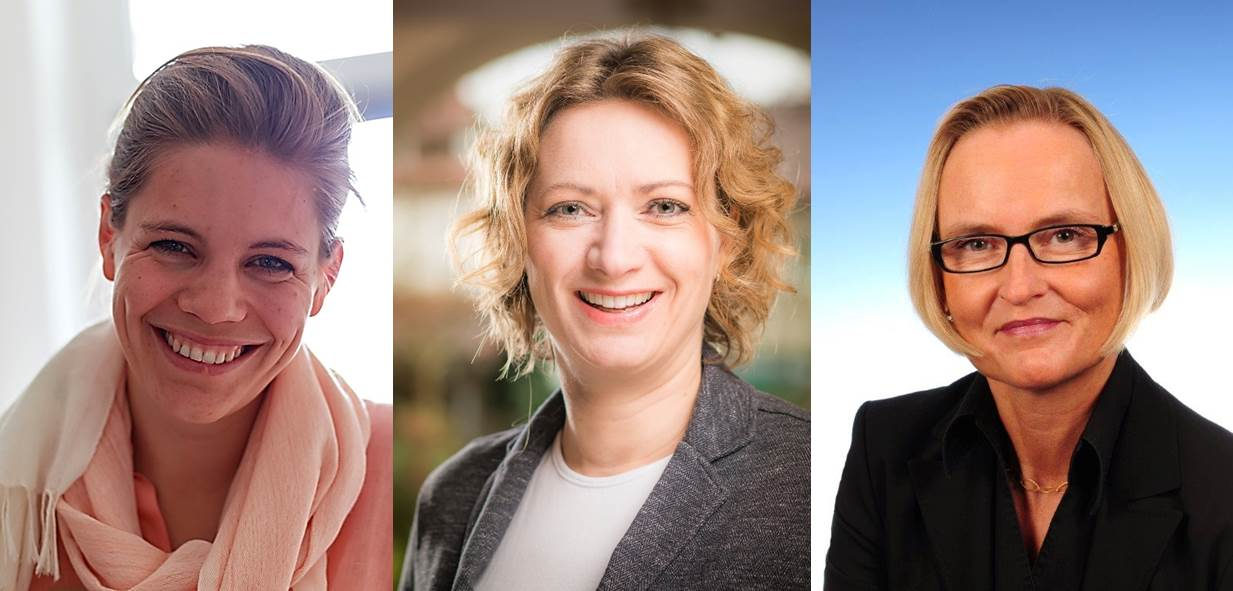 Carolin Vogt, Andrea Mikoleit, Anke Hahn