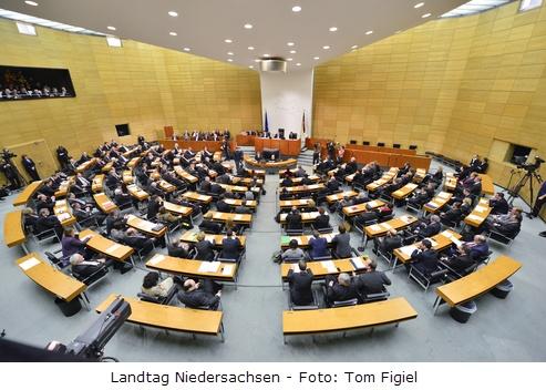 Landtag Niedersachsen - Foto:Tom Figiel