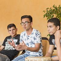 Geflüchtete Jugendliche © DKJS/Marius Brüggen
