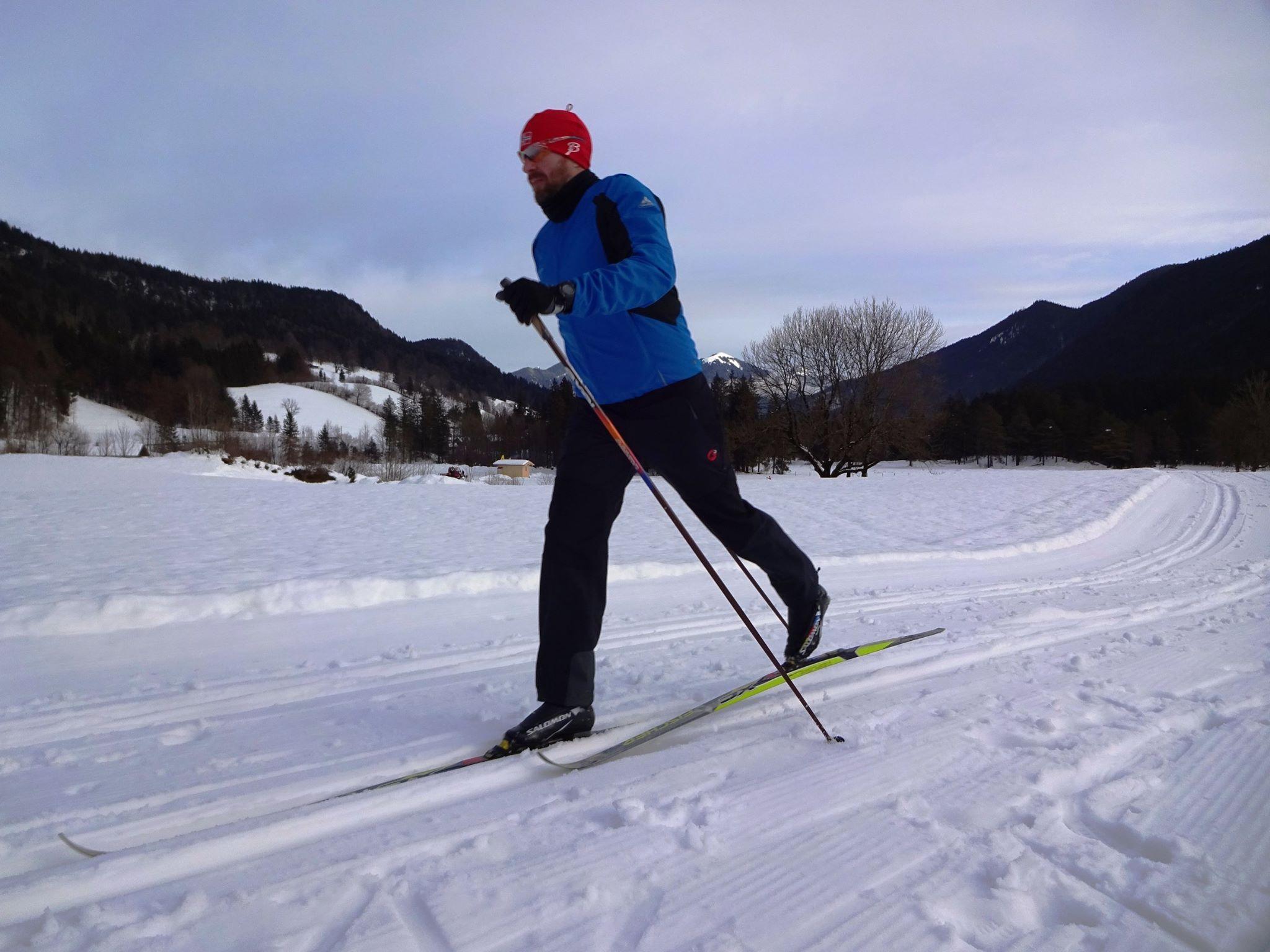 Skilanglauf klassisch mit outside1st
