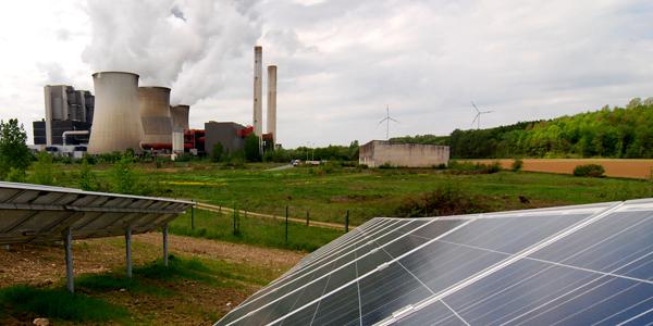 Erneuerbare Energien statt Kohle