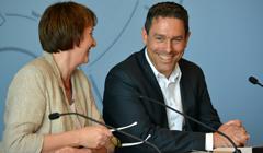 Monika Düker und Arndt Klocke