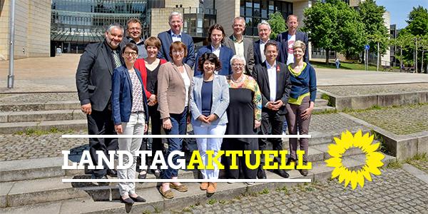 Gruppenfoto GRÜNE Landtagsfraktion NRW