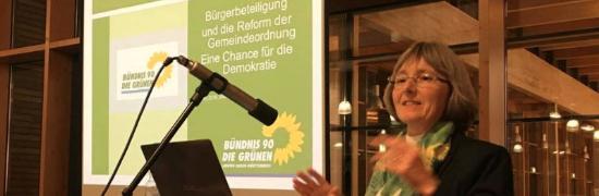 Mein Vortrag in Wimsheim über Bürgerbeteiligung und die Zukunft