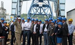 Werftbesuch bei der Basisschulung Maritime Wirtschaft 2017