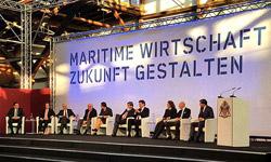 Diskussionsrunde bei der Nationalen Maritimen Konferenz 2017