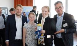 Das MCN-Team aus Niedersachsen mit Oliver Fuhljahn, Rhenus Cuxport