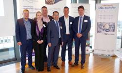 Referenten und MCN-Team beim Maritimen Marktplatz Nordwest
