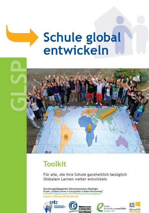 "Titelseite Toolkit ""Schule global entwickeln"". Quelle: epiz.de"