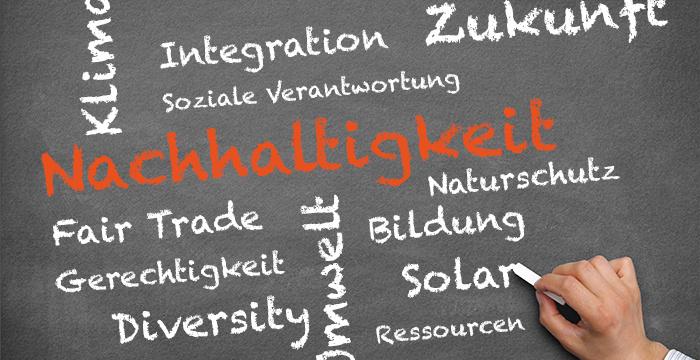 Tagcloud zu Bildung für nachhaltige Entwicklung. Quelle: bne-bw.de