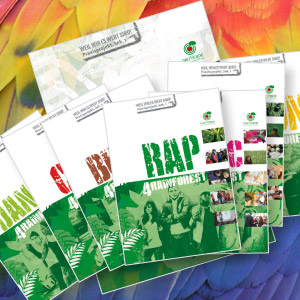 Logo Rap 4 rainforest. Quelle: OroVerde