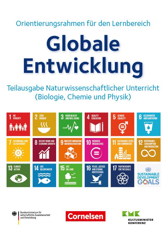 Titelseite der Ausgabe für den naturwissenschaftlichen Unterricht. Quelle: Engagement Global