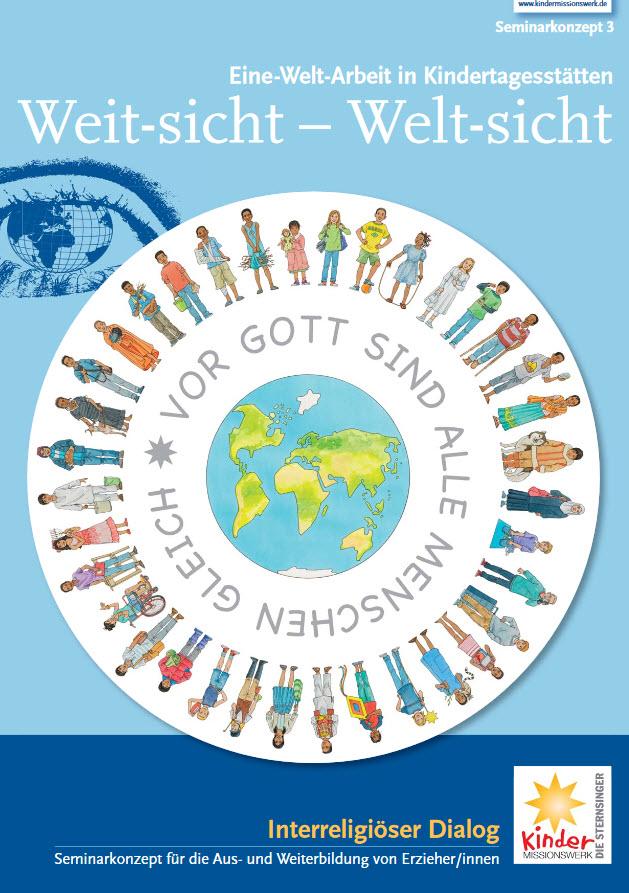 Cover Weitsicht -Weltsicht. Quelle: kita-global.de