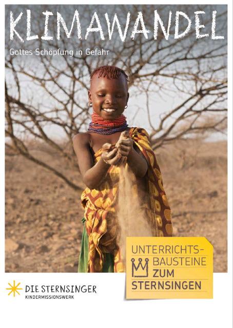 """Titelblatt Magazin """"Wasser für die Wüste"""". Quelle: Kindermissionswerk"""