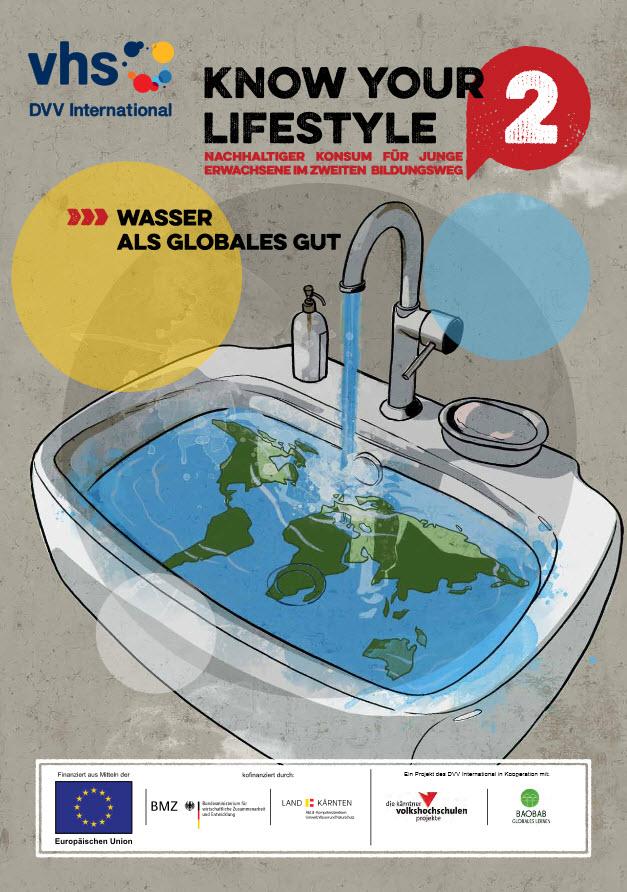 Titelseite der Broschüre zu Wasser. Quelle: knowyourlifestyle.eu