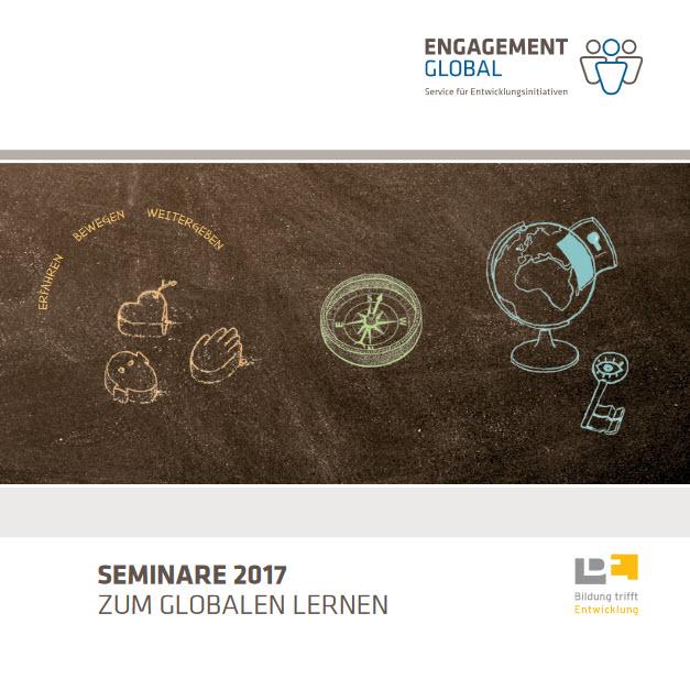 Cover Seminarprogramm 2017. Quelle: bildung-trifft-entwicklung.de