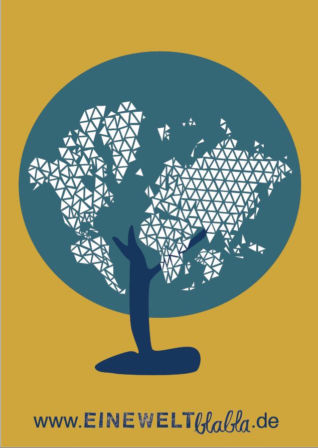 Logo www.eineweltblabla.de. Quelle: WUS