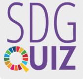 Logo SDG-Quiz. Quelle: klimaquiz.de